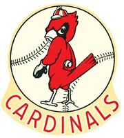 St. LOUIS CARDINALS   Baseball   Vintage Style  Travel Decal Sticker