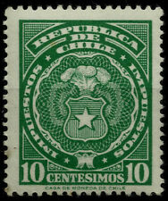 CHILE, DOCUMENTARY STAMP, 10 CENTESIMOS, MINT NEVER HINGED