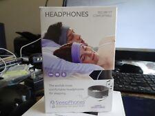 Best AcousticSheep SleepPhones Classic Sleep Headphones Black Fleece X-Large