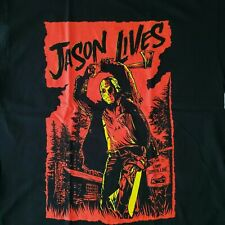 FREE SAME DAY SHIPPING New FRIDAY THE 13th JASON LIVES Color Shirt Size Large