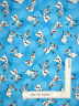 Disney Frozen Olaf Snowflake Blue Cotton Fabric Springs CP53326 By The Yard
