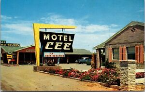 Postcard Cee Motel in Deming, New Mexico~136009