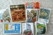 Stamp- A collection GB Stamps - lot of 8 (Used & Unused)