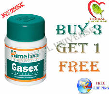 *BUY 3 GET 1 FREE* Himalaya Gasex Herbal Tablet- Free Shipping - Lowest Price US