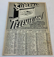 1966 tv show ad ~ SUPERMAN ON TELEVISION