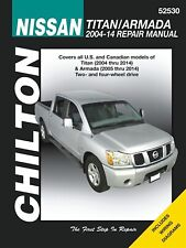 Nissan Titan, Armada Repair Manual 2004-2014
