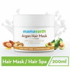 Mamaearth Argan Hair Mask, 200ml-REPAIRS DAMAGED HAIR-DERMATOLOGICALLY TESTED