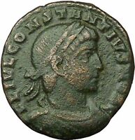 CONSTANTIUS II son of  Constantine the Great  Roman Coin Glory of  Army i35136