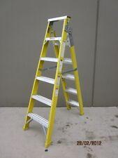 Dual Purpose Fibreglass Step Ladder 1.8M / 3.3M AS/NZS 120KG New stock back