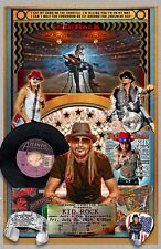 "Kid Rock-11x17"" collage poster -Vivid Colors - Deep Blacks - Signed by Artist"
