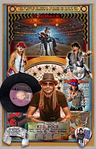 "Kid Rock Tribute Poster - 11x17"" Vivid Colors"