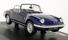 Sunstar 1/18 Scale 4055 1966 Lotus Elan SE Roadster Royal Blue Diecast model car