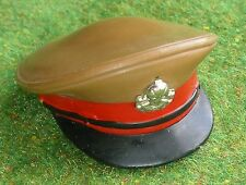 VINTAGE ACTION MAN 40th LOOSE ACTION SOLDIER BRITISH ARMY OFFICER - CAP