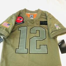 NWT Nike Tom Brady Salute To Service Camo Army Jersey Youth Small