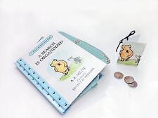 Winnie the Pooh Coin Purse made from Book, Book coin purse
