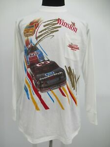M0729 VTG NASCAR Winston Cup Series 1992 Dale Earnhardt Goodwrench T-Shirt XL