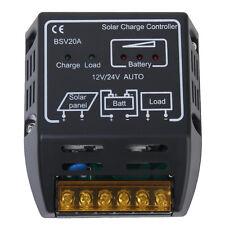 Solar Panel Battery Charger Controller Regulator Safe Protection 20A 12V/24V