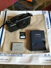 Canon PowerShot S110 12.1MP Digital Camera - Black w/Box TESTED.