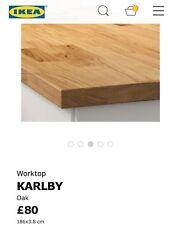 oak kitchen worktops ebay. Black Bedroom Furniture Sets. Home Design Ideas