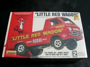 "Lindberg Mavericks ""Little Red Wagon"" 1/25 Scale Model Kit Original Sealed Box"