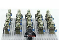 20x Kashyyyk Clone Troopers Mini Figures (LEGO STAR WARS Compatible)