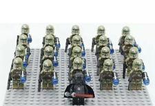 20x Kashyyyk Clone Troopers Mini Figures (LEGO STAR WARS Compatible)
