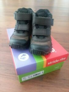 Stride Rite Boys Shoes/Boots - Rugged Ritchie 2 DK Brown - Size 12.5M