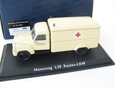 """Hanomag L28 """"Sanitatswagen"""" 1/43 SCHUCO RARE!"""