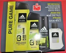 Adidas, Pure Game, Men's Home and Gym Gift Set
