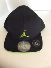 Michael Jordan Jump Man Infant Sun Protection Hat Ball Cap Neon Green Black