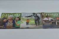 """Ensign"" LDS Mormon Magazine 2020Collection Sept,Oct,Nov(3)Issues-FREE SHIP"