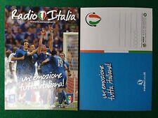 Cartolina NAZIONALE ITALIA RADIO , Gazzetta Pubblicita' Card 15x10,5 cm