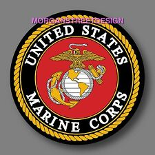 """US Marines Corps Decal Sticker 4"""""""