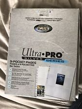 Ultra Pro Collector Silver Series 100 pages (opened but never used)