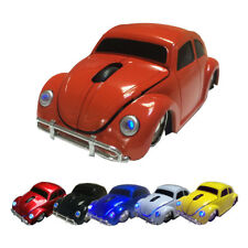 1600DPI USB Optical 2.4Ghz Wireless Mouse VW Beetle Car Mice for Laptop PC Gift