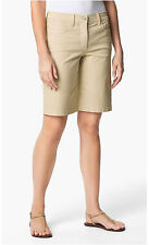 NYDJ Not Your Daughter's Jeans Shorts Beige Sz 4 Helen Twill Style M30A69DT3293