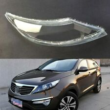 For Kia Sportage R 2009~2012 Car Headlight Headlamp Clear Lens Auto Shell Cover