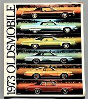 """ORIGINAL 1973 OLDSMOBILE FULL LINE PRESTIGE BROCHURE ~ 48 PAGES ~ 12"""" X 10.5"""""""