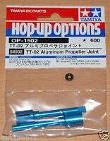 Tamiya 54502 TT-02 Aluminum Propeller Joint (TT02/TT02B/TT02D/TT02T), NIP