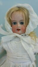 14 ins /35 cms Antique Armand Marseille Doll  Leather   Body