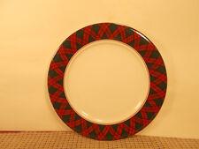 """Arita China Tartan Plaid Pattern Salad Plate 7 1/2"""""""