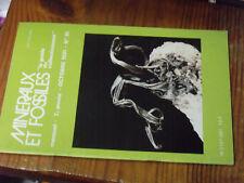 11µ? Revue Mineraux & Fossiles n°81 Natrolite G.L de Buffon Fluorine Argentolle