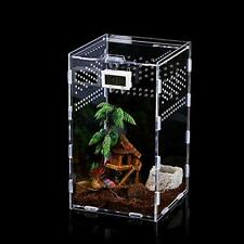 Acrylic Transparent Insect Feeding Box, Reptile Spider Scorpion, Pet Breeding