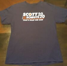 Scott Schrute 2020 That's What She Said Blue TShirt.The Office Official Shirt.