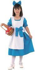 Déguisement Fille ALICE au pays des merveilles Bleu 4 ans Enfant film NEUF