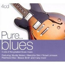 PURE...BLUES 4 CD NEUWARE MIT ETTA JAMES UVM.