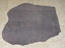 (Cde10315) Hide of Grey Brown Printed Cow Leather Hide Skin