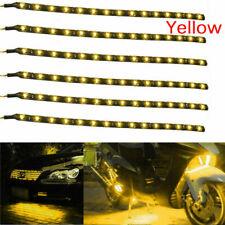 6PCS Waterproof DC 12V Motor LED Strip Underbody Light For Car Motorcycle