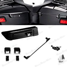Black Tour Pak Pack Trunk Latch For Harley  Electra Street Glide 2014-2017