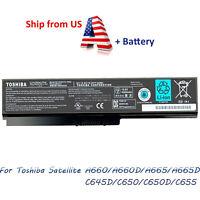 Genuine OEM PA3817U-1BRS Battery for Toshiba Satellite C655 L655 L735 A660 New